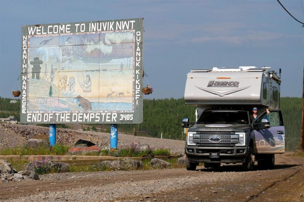 welcome to Inuvik NWT