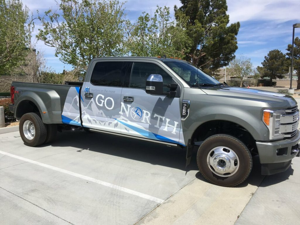 go north ford truck